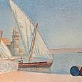 Collioure Les Balancelles by Paul Signac