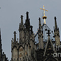 Cologne Cathedral Towers by Bob Christopher