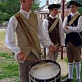 Colonial Drummer by Sally Weigand