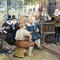 Colonial Smoking Protest by Granger