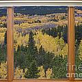 Colorado Autumn Picture Window Frame Art Photos by James BO Insogna