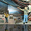 Colorado-california Art Book Cover by Glenn Bautista