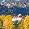 Colorado Estes Park Stanly Hotel Autumn View by James BO Insogna
