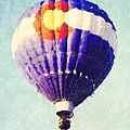 Colorado Flag Hot Air Balloon by David G Paul