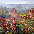 Colorado National Monument by Lou Ann Bagnall