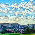 Colorado Skies 1 by Angelina Vick