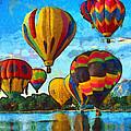 Colorado Springs Hot Air Balloons by Nikki Marie Smith