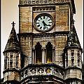 Colored Clock by Sheri Bartoszek