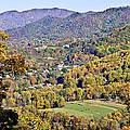 Colorful Autumn Valley by Susan Leggett