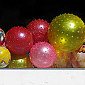 Colorful Balls In The Shop Window by Ausra Huntington nee Paulauskaite