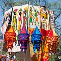 Colorful Banners At Surajkund Mela by Ashish Agarwal