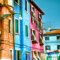 Colorful Burano by Jon Berghoff