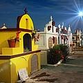 Colorful Cemetery in Aruba