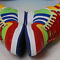 Colorful Clown Shoes by Richard Bryce and Family