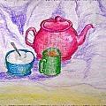 Colorful Coffee by Debbie Portwood