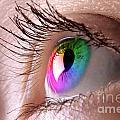 Colorful Eye by Oleksiy Maksymenko