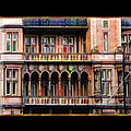 Colorful Fastasy British Building by Elaine Plesser
