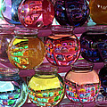 Colorful Fish Bowls by Donna Brown
