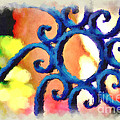 Colorful Ironwork by Donna Bentley