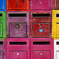 Colorful Mailboxes by Carlos Caetano