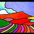 Colorful Massanutten Peak Two by Jim Harris