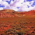 Colorful Mesas At Fossil Butte Nm Butte by Rich Walter