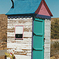 Colorful Outhouse by Mel White  Photo
