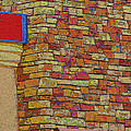 Colorful Stacked Stone by Debbie Portwood