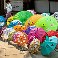 Colorful Umbrellas by John Wong