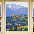 Colorful Rocky Mountain Autumn Picture Window View by James BO  Insogna