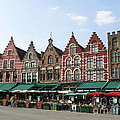 Colors Of Brugge by Ausra Huntington nee Paulauskaite