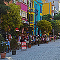 Colors Of Istanbul Street Life by Kantilal Patel