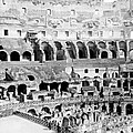 Colosseum In Rome Itlay - Interior - C 1904 by International  Images