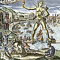 Colossus Of Rhodes Statue by Sheila Terry