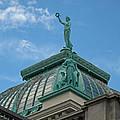 Columbia Atop Memorial Hall by Barbara McDevitt