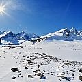 Columbia Icefield In Winter, Jasper by Darwin Wiggett
