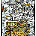 Columbus's Ship The Santa Maria by Sheila Terry