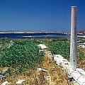Column In Delos by Andonis Katanos