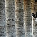 Columns And Hanging Lamp by Mike Nellums