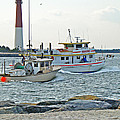 Coming Home - Barnegat Inlet Nj by Mother Nature