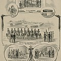 Commemorative Print Depicting The Trial by Everett