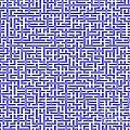 Complex Maze by Yali Shi