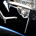 Components Of Space Shuttle Discovery by Stocktrek Images