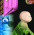 Computer Artwork Depicting Genetic Screening by Laguna Design