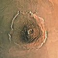 Computer-enhanced Image Of Olympus by U.S. Geological Survey