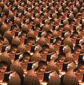 Conceptual Computer Artwork Of Human Cloning by Victor De Schwanberg