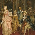 Concert At The Time Of Mozart by Ettore Simonetti
