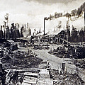 Concord New Hampshire - Logging Camp - C 1925 by International  Images