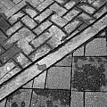 Concrete Tile - Abstract by Deborah  Crew-Johnson