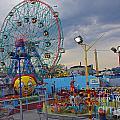 Coney Island Amusements by Rich Walter